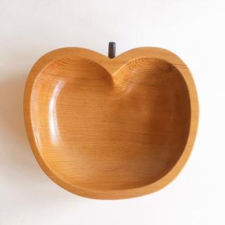 屋久杉リンゴ型皿