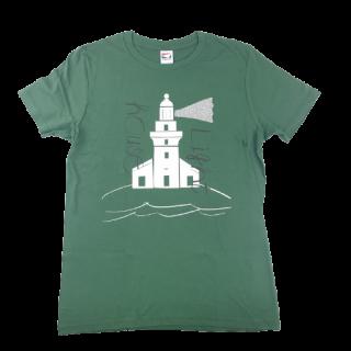 灯台Tシャツ グリーン