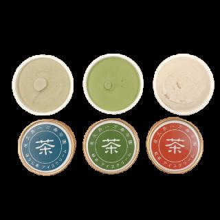 八万寿茶園アイスクリーム【緑茶・紅茶・ほうじ茶】