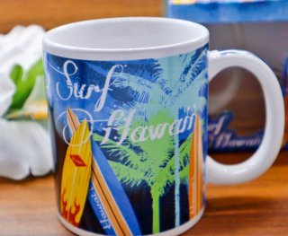 ハワイアンサーフマグカップ