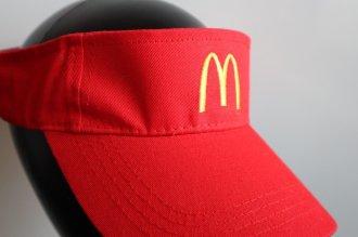 【McDonald's】バイザー