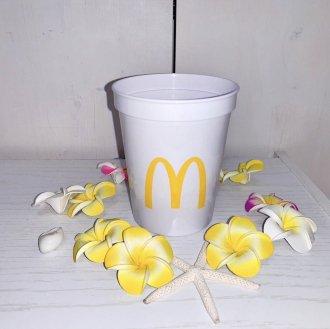 【McDonald's】カップ