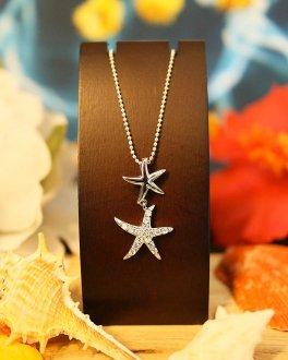 【Hawaiian Jewelry】silver star fish