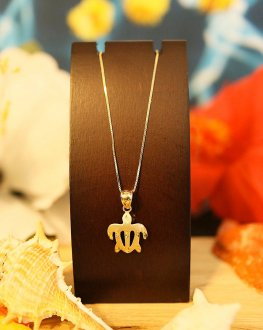 【Hawaiian Jewelry】 14金 ホヌ