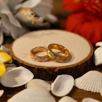 【Hawaiian Jewelry】サージカルステンレス ディープカービングリング