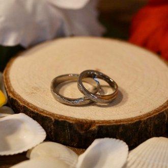 【Hawaiian Jewelry】サージカルステンレス クロスリング