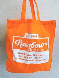 RAINBOW DRIVE-IN カラフルトートエコバッグ