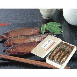鮎の甘露煮<大>桐箱入り(630グラム/11〜12尾入り)