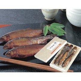 鮎の甘露煮<小>桐箱入り(330グラム/6〜7尾入り)