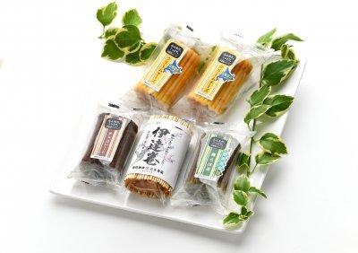 伊達巻スイーツ5種食べくらべセット