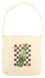 <img class='new_mark_img1' src='https://img.shop-pro.jp/img/new/icons20.gif' style='border:none;display:inline;margin:0px;padding:0px;width:auto;' />50%OFF CHECKER BOTTLE TOTE BAG