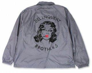 The Delinquent Nylon Coach's Jacket