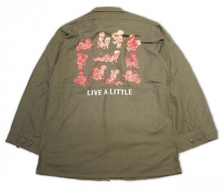<img class='new_mark_img1' src='https://img.shop-pro.jp/img/new/icons20.gif' style='border:none;display:inline;margin:0px;padding:0px;width:auto;' />30%OFF LIVE A LITTLE FATIGUE JACKET