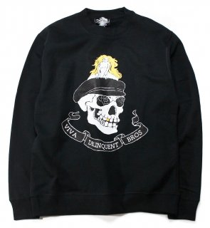 <img class='new_mark_img1' src='https://img.shop-pro.jp/img/new/icons25.gif' style='border:none;display:inline;margin:0px;padding:0px;width:auto;' />Viva Delinquent Bros Crewneck Sweat