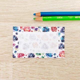 潤々花メッセージカード
