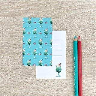 メロンソーダ メッセージカード