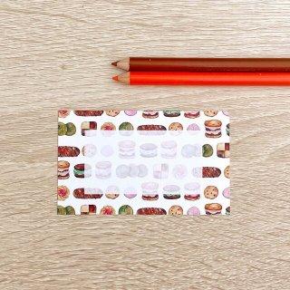 クッキーメッセージカード