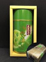 奥久慈煎茶【久慈誉】200g缶箱入