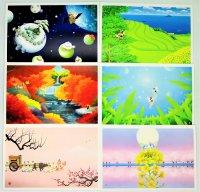 ©ゆうきよしなり×お茶の吉成園 original postcard 6枚セット