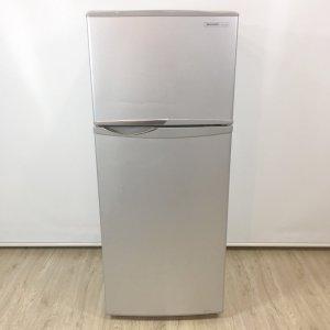 SHARPシャープ冷蔵庫 SJ-H12W-S【中古】