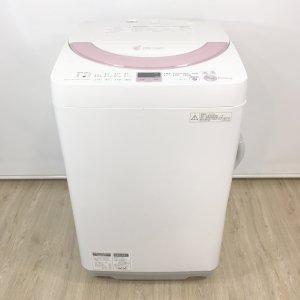シャープ洗濯機2014年ES-GE60N-P【中古】