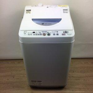 シャープ洗濯機2014年ES-TG55L【中古】