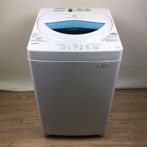 東芝 TOSHIBA 洗濯機 2017年製 AW-5G5(W) 【中古】
