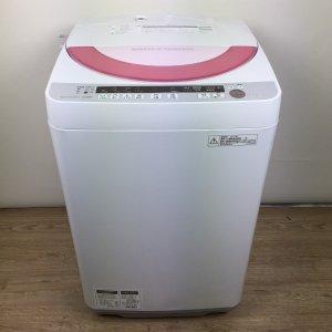 SHARP(シャープ)洗濯機 2014年 ES-GE60P【中古】