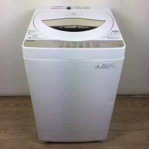 東芝TOSHIBA洗濯機2016年 AW-5G3(W)【中古】
