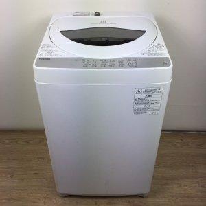 東芝 TOSHIBA 洗濯機 2019年製 AW-5G6(W) 【中古】