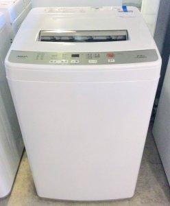 【高年式2019年製】AQUA アクア AQW-S60G(W) [簡易乾燥機能付き洗濯機 6.0kg]【中古】