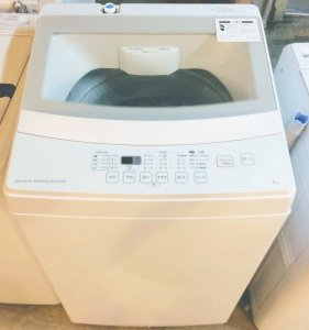 【高年式2019年製】 ニトリ NTR60 洗濯機 6.0kg ホワイト 中古