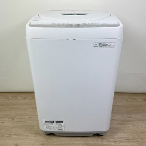 SHARP ES-FG45L-H 全自動電気洗濯機 4.5kg 2013年【中古】