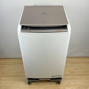 日立 HITACHI BW-DV90C 全自動電気洗濯機 9.0kg 2018年 ホワイト【中古】