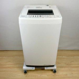 ハイセンス Hisense HW-T45C 洗濯機 2019年 ホワイト【中古】