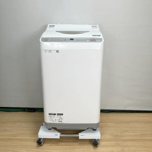 シャープ SHARP ES-TX5B-N [全自動洗濯機(5.5kg) 2018年]【中古】