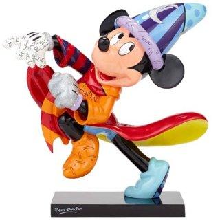 ディズニー 魔法使いミッキー 14インチ スタチューフィギュア by Romero Britto