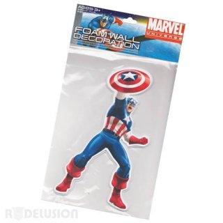 マーベル フォームウォールデコレーション キャプテン・アメリカ MARVEL
