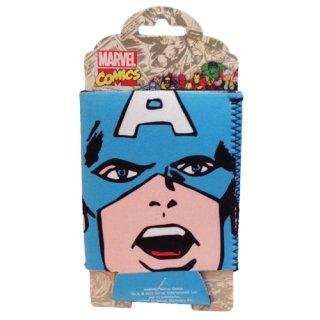 マーベル キャプテン・アメリカ 缶ホルダー クージー MARVEL