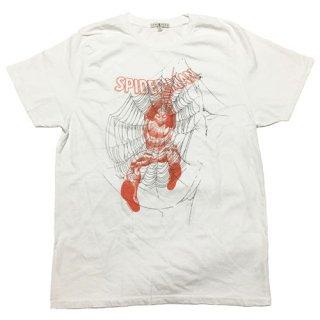 マーベル スパイダーマン Web Tシャツ Spider-man MARVEL