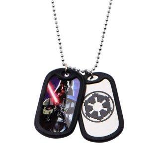 スター・ウォーズ ダース・ベイダー BK ダブルドッグタグ ペンダント ネックレス STAR WARS