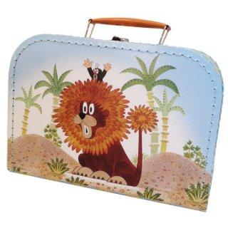 もぐらのクルテク スーツケース ライオン Mサイズ Krtek