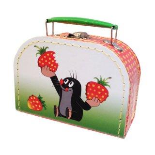 もぐらのクルテク スーツケース イチゴ XSサイズ Krtek