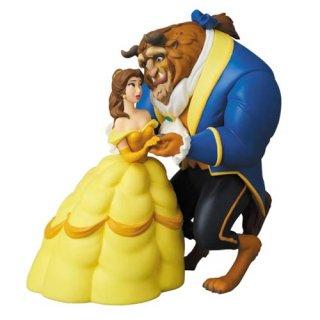 ディズニー UDF Disney 野獣&ベル フィギュア