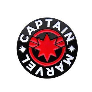マーベル キャプテン・マーベル ロゴ ラペルピン MARVEL
