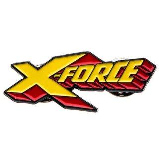 マーベル デッドプール X-FORCE ロゴ ラペルピン MARVEL