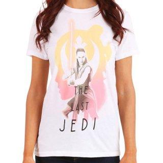 スター・ウォーズ The Last Jedi レディース Tシャツ レイ STAR WARS 最後のジェダイ