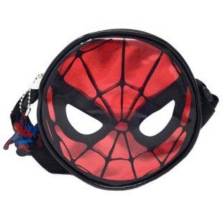 マーベル スパイダーマン 丸型 ショルダーバッグ MARVEL