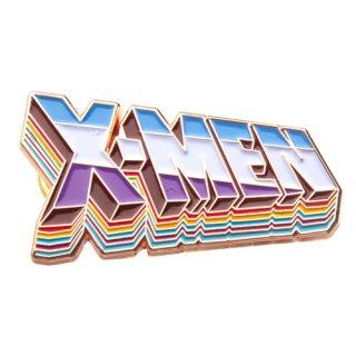 マーベル X-MEN タイトルロゴ 80周年記念 ラペルピン MARVEL