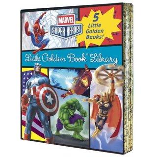 マーベルコミック リトルゴールデンブック Marvel Little Golden Book Library